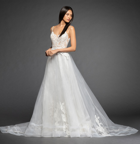 Estelle Wedding                                          dress by Lazaro