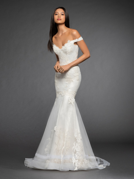 Giselle Wedding                                          dress by Lazaro