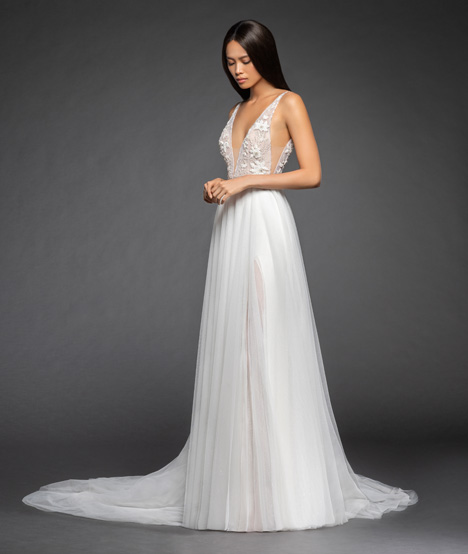 Roxana Wedding                                          dress by Lazaro