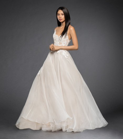 Vanessa Wedding                                          dress by Lazaro