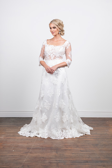 Evelyn (4070) Wedding                                          dress by Barbara Kavchok