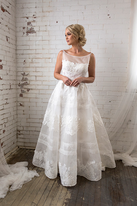 Serenity (4073) Wedding                                          dress by Barbara Kavchok