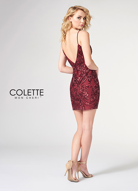CL21843S (back) Prom                                             dress by Colette by Mon Cheri