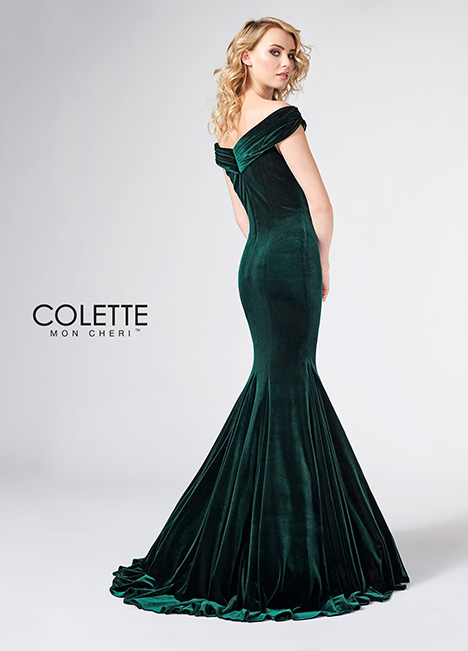 CL21869 (back) Prom                                             dress by Colette by Mon Cheri