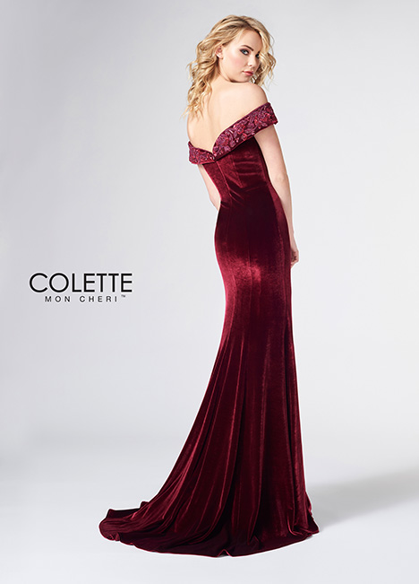 CL21872 (back) Prom                                             dress by Colette by Mon Cheri
