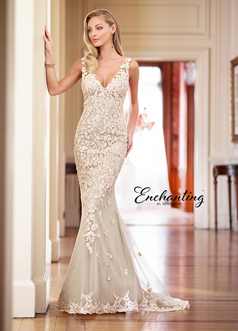 218163-A Wedding                                          dress by Enchanting by Mon Cheri