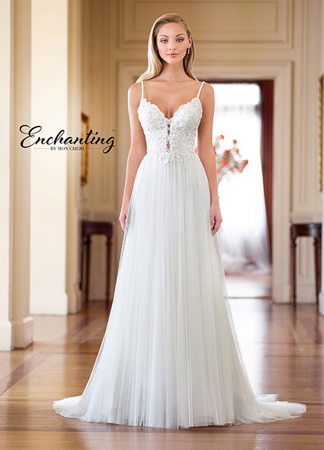 218164 Wedding                                          dress by Enchanting by Mon Cheri