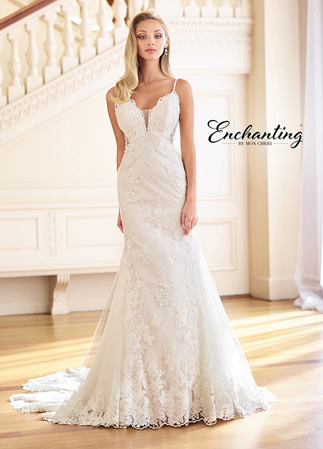 218165 Wedding                                          dress by Enchanting by Mon Cheri