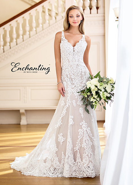 218167 Wedding                                          dress by Enchanting by Mon Cheri