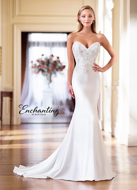 218168 Wedding                                          dress by Enchanting by Mon Cheri