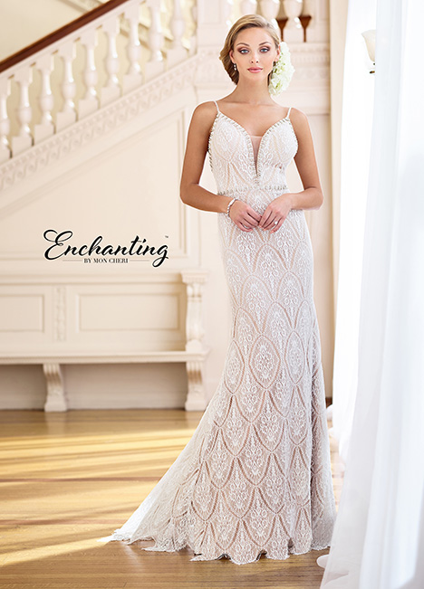 218172 gown from the 2018 Enchanting by Mon Cheri collection, as seen on dressfinder.ca