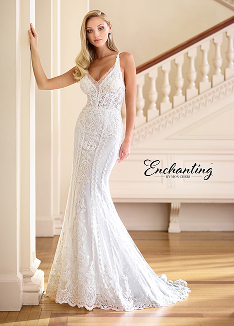 218175 Wedding                                          dress by Enchanting by Mon Cheri