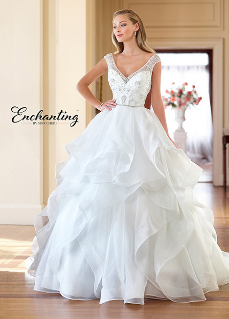 218178 Wedding                                          dress by Enchanting by Mon Cheri