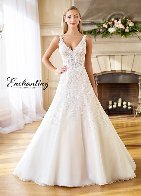 218179 Wedding                                          dress by Enchanting by Mon Cheri