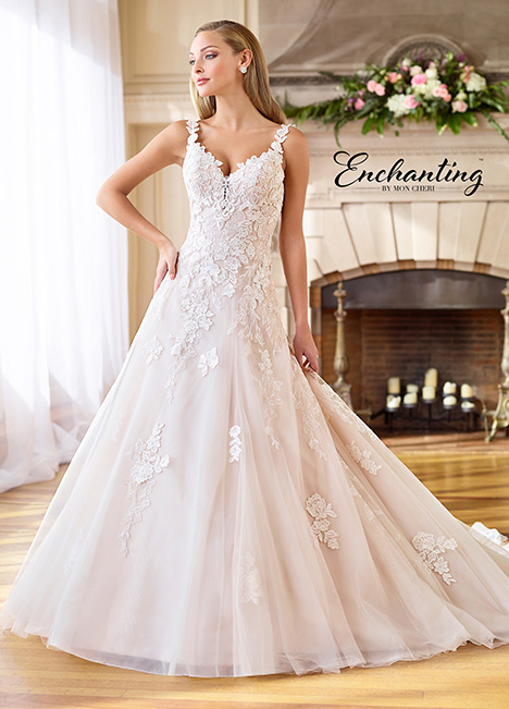 218183 Wedding                                          dress by Enchanting by Mon Cheri
