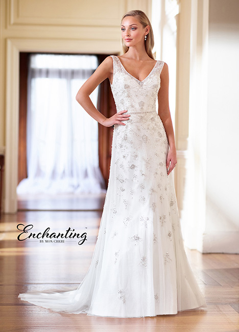 218185 Wedding                                          dress by Enchanting by Mon Cheri