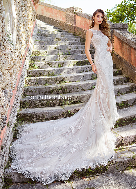 218204 Wedding                                          dress by Martin Thornburg for Mon Cheri