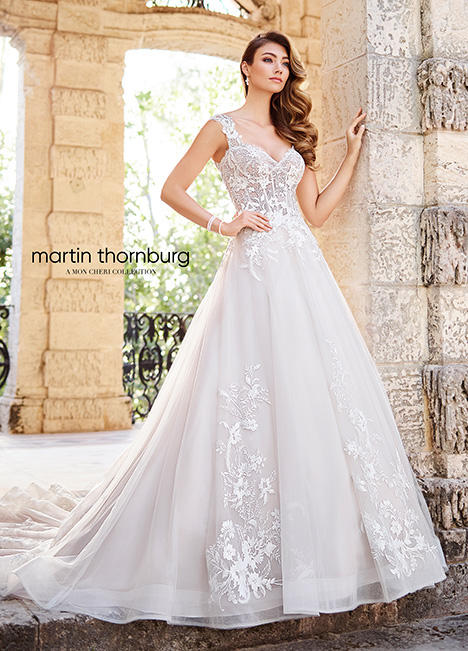 218207 Wedding                                          dress by Martin Thornburg for Mon Cheri