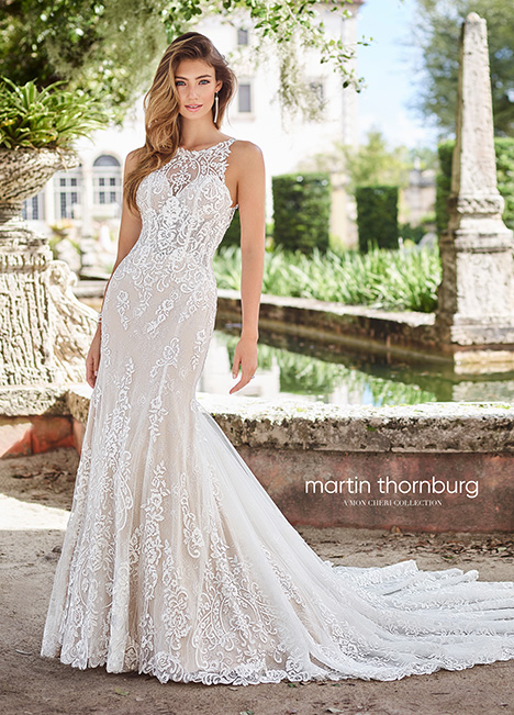 218208 Wedding                                          dress by Martin Thornburg for Mon Cheri
