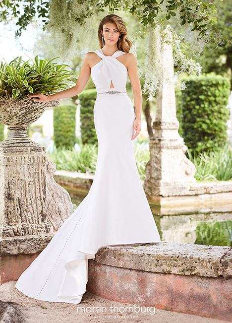 218210S Wedding                                          dress by Martin Thornburg for Mon Cheri