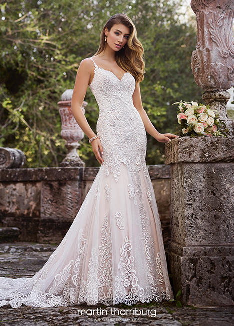 218216 Wedding                                          dress by Martin Thornburg for Mon Cheri