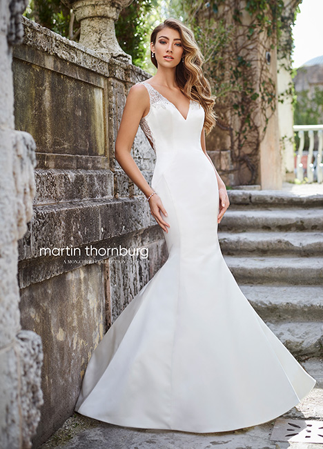 218217 Wedding                                          dress by Martin Thornburg for Mon Cheri