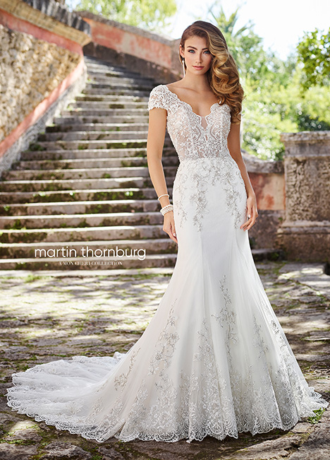 218218 Wedding                                          dress by Martin Thornburg for Mon Cheri
