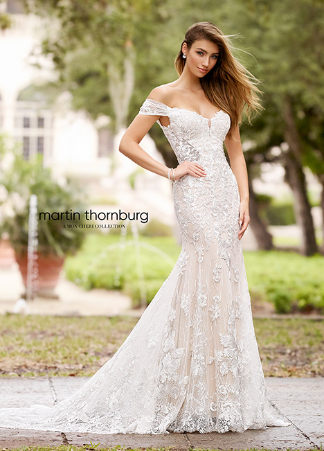 218224 Wedding                                          dress by Martin Thornburg for Mon Cheri