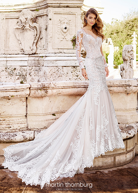 218229 Wedding                                          dress by Martin Thornburg for Mon Cheri