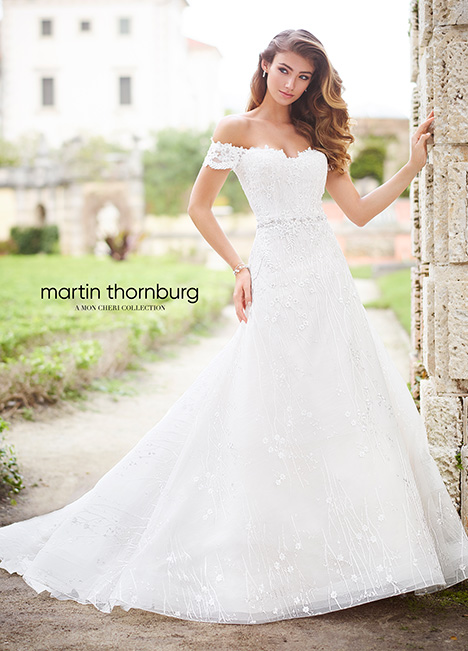218232 Wedding                                          dress by Martin Thornburg for Mon Cheri