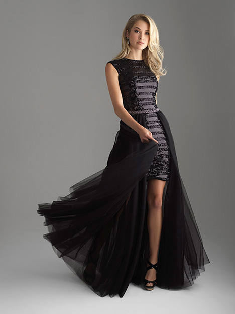 18-616 Black Prom                                             dress by Madison James Special Occasion