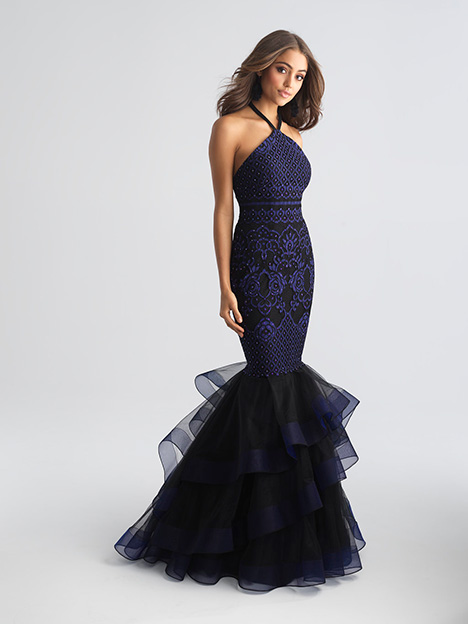 18-647 Navy Prom                                             dress by Madison James Special Occasion