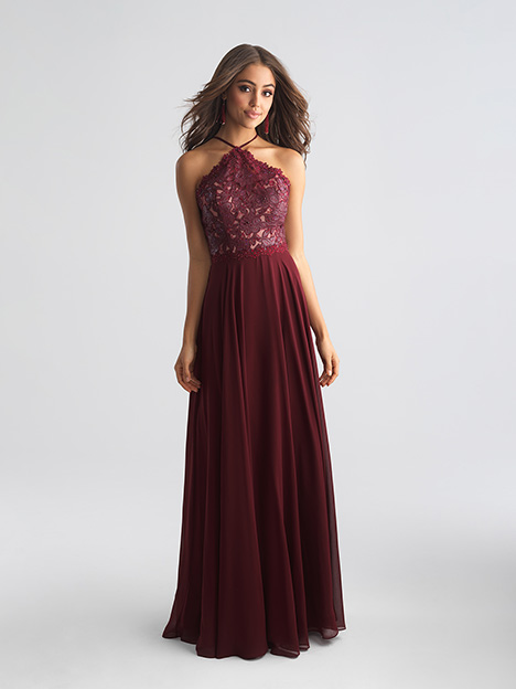 18-653 Wine Prom                                             dress by Madison James Special Occasion