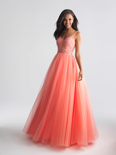 18-668 Coral Prom dress by Madison James Special Occasion
