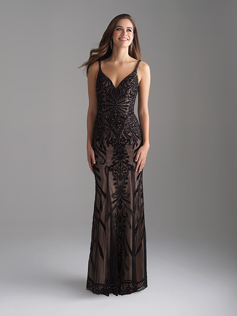 18-676 Black Prom                                             dress by Madison James Special Occasion