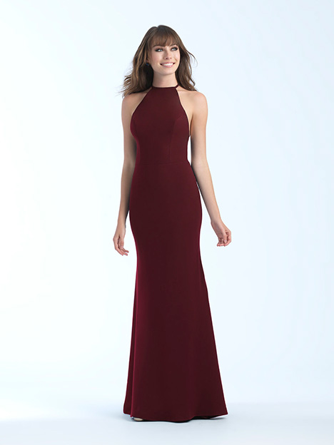 18-677 Burgundy Prom                                             dress by Madison James Special Occasion