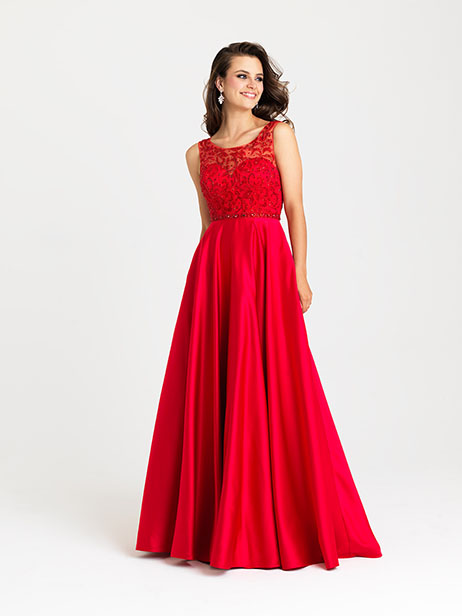 16-307 Prom                                             dress by Madison James : Prom Celebrity