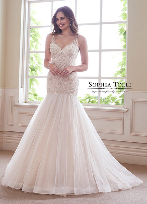 Y21811 Wedding                                          dress by Sophia Tolli