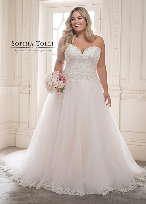 Y21816 (+) Wedding                                          dress by Sophia Tolli