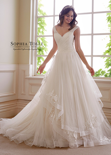 Y21824 Wedding                                          dress by Sophia Tolli