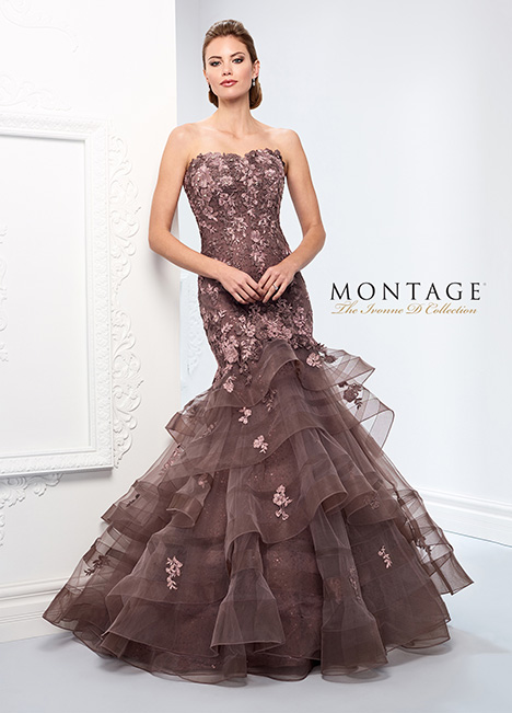 218D21 Mother of the Bride                              dress by Montage : Ivonne D Collection