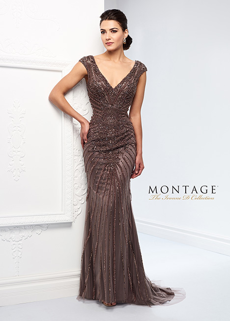 218D22 Mother of the Bride                              dress by Montage : Ivonne D Collection