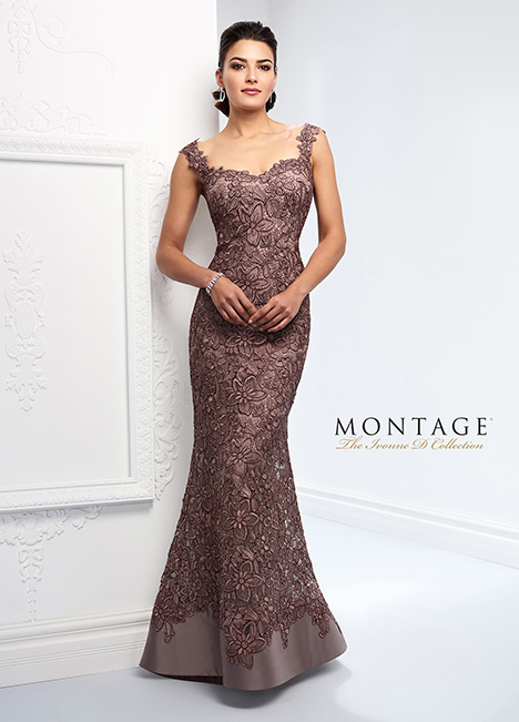 218D23 Mother of the Bride                              dress by Montage : Ivonne D Collection