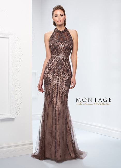 218D27 Mother of the Bride                              dress by Montage: Ivonne D Collection