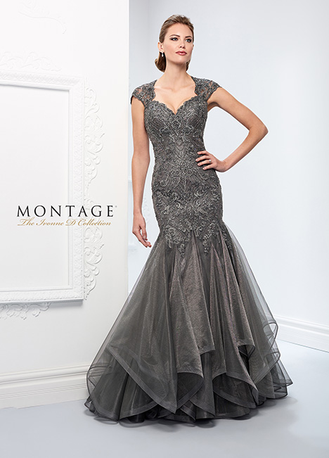 218D29 Mother of the Bride                              dress by Montage: Ivonne D Collection