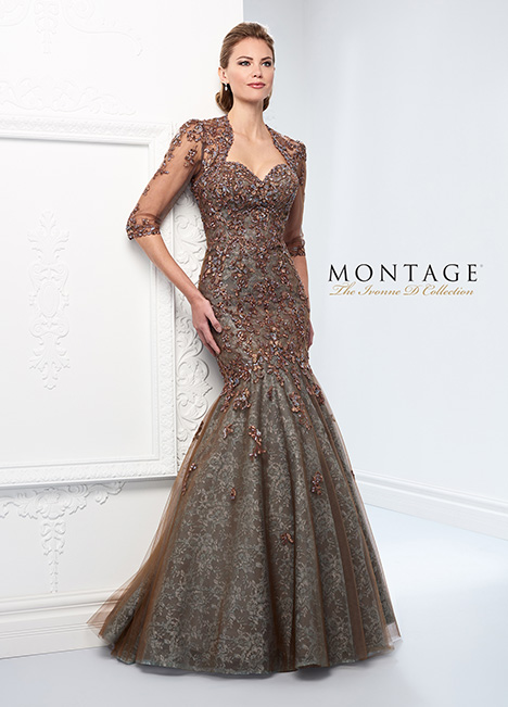 218D31 Mother of the Bride                              dress by Montage: Ivonne D Collection