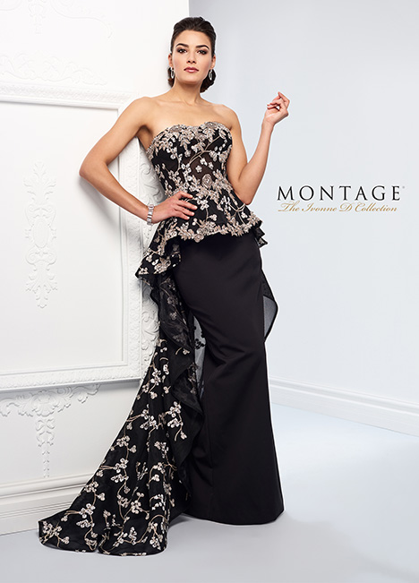 218D32 Mother of the Bride                              dress by Montage: Ivonne D Collection
