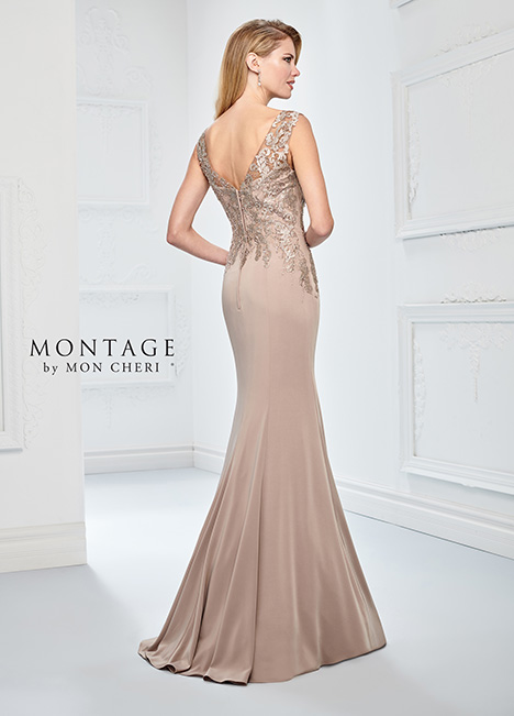218902 (back) Mother of the Bride                              dress by Montage by Mon Cheri