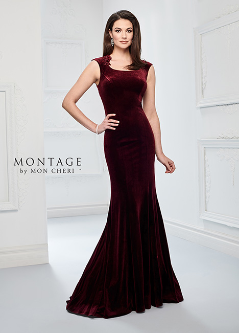 218908 (Cranberry) Mother of the Bride                              dress by Montage by Mon Cheri