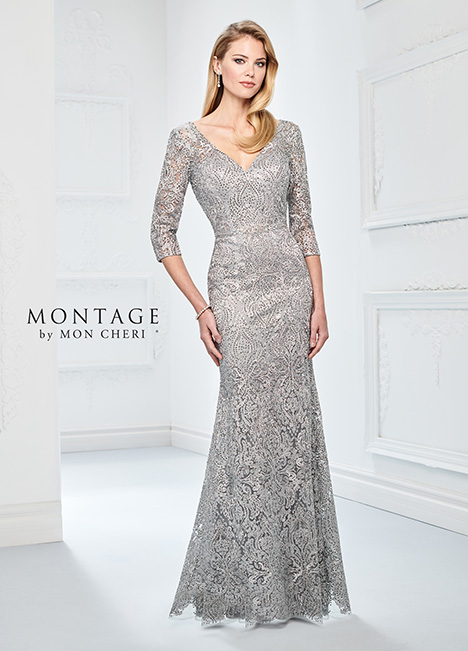 218910 (Silver) Mother of the Bride                              dress by Montage by Mon Cheri